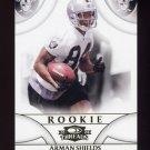 2008 Donruss Threads Retail Rookies #158 Arman Shields RC - Oakland Raiders 493/999