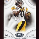 2008 Donruss Threads Football #107 Santonio Holmes - Pittsburgh Steelers