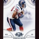 2008 Donruss Threads Football #055 Ahman Green - Houston Texans