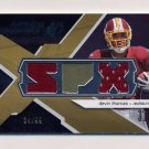 2008 SPx Winning Materials SPx Dual 99 #WMDT Devin Thomas - Redskins Dual Game-Used Jerseys 04/99