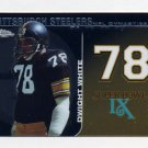 2008 Topps Chrome Football Dynasties #DYN-DWH Dwight White - Pittsburgh Steelers