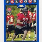 2008 Topps Chrome Blue Refractors #TC223 Sam Baker RC - Atlanta Falcons