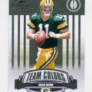 2008 Donruss Classics Team Colors Rookie Insert #TC06 Brian Brohm - Green Bay Packers