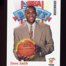 1991-92 Skybox Basketball #517 Steve Smith RC - Miami Heat
