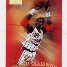 1997-98 Skybox Premium Basketball #120 Hakeem Olajuwon - Houston Rockets