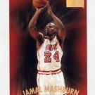 1997-98 Skybox Premium Basketball #054 Jamal Mashburn - Miami Heat