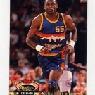 1992-93 Stadium Club Basketball #196 Dikembe Mutombo MC - Denver Nuggets
