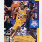 1994-95 Collector's Choice Basketball Silver Signature #415 Eddie Jones DC - Los Angeles Lakers