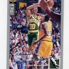 1994-95 Collector's Choice Basketball Silver Signature #357 Sarunas Marciulionis - Supersonics