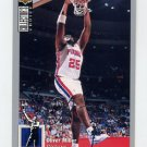 1994-95 Collector's Choice Basketball Silver Signature #293 Oliver Miller - Detroit Pistons