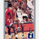 1994-95 Collector's Choice Basketball Silver Signature #285 Sam Mitchell - Indiana Pacers