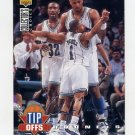 1994-95 Collector's Choice Basketball Silver Signature #168 Alonzo Mourning TO - Hornets