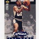 1994-95 Collector's Choice Crash The Game Rebounds #R12 David Robinson - Spurs