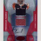 2008 Leaf Certified Materials Mirror Red Signatures #201 Andre Caldwell AUTO, Game-Used /250