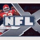 2008 SPx Rookie Materials NFL Letters Triple #RM-GD Glenn Dorsey Triple Game-Used JSY /50