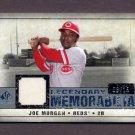 2008 SP Legendary Cuts Legendary Memorabilia #LM-JM Joe Morgan - Reds Game-Used Jersey /15
