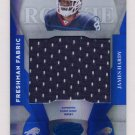 2008 Leaf Certified Materials Mirror Blue Materials #226 James Hardy Game-Used Jersey /50
