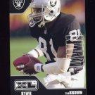 2002 Upper Deck XL Football #342 Tim Brown - Oakland Raiders