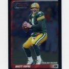2003 Bowman Chrome Football #001 Brett Favre - Green Bay Packers