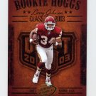 2003 Playoff Hogg Heaven Rookie Hoggs #RCH7 Larry Johnson - Kansas City Chiefs