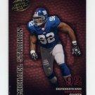 2003 Playoff Hogg Heaven Football #093 Michael Strahan - New York Giants