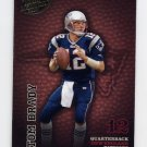 2003 Playoff Hogg Heaven Football #086 Tom Brady - New England Patriots