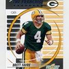 2003 Score Football The Franchise #TF-12 Brett Favre - Green Bay Packers