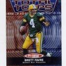 2003 Topps Total Total Topps Insert #TT3 Brett Favre - Green Bay Packers
