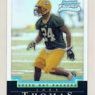 2004 Bowman Chrome Refractors #213 Joey Thomas RC - Green Bay Packers 480/500