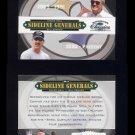 2004 Donruss Classics Football Sideline Generals #SG-3 Chuck Noll / Bill Cowher - Steelers /2000