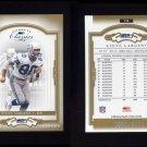 2004 Donruss Classics Football #145 Steve Largent - Seattle Seahawks 0695/2000