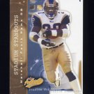 2004 Fleer Authentix Stadium Standouts #06SS Marshall Faulk - St. Louis Rams