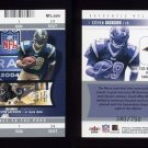 2004 Fleer Authentix Football #108 Steven Jackson RC - St. Louis Rams 340/750