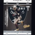 2004 Fleer Authentix Football #056 Jerry Rice - Oakland Raiders