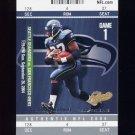 2004 Fleer Authentix Football #021 Shaun Alexander - Seattle Seahawks