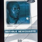 2004 Hot Prospects Football Notable Newcomers #14NN Greg Jones - Jacksonville Jaguars