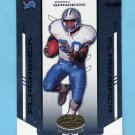 2004 Leaf Certified Materials Football #134 Barry Sanders - Detroit Lions