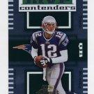 2004 Playoff Contenders MVP Contenders Green #MC-14 Tom Brady - New England Patriots 203/250