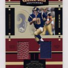 2004 Playoff Honors Football Game Day Souvenirs #GD14 Marc Bulger Game-Used JSY/Football /250