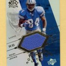 2004 Reflections Focus On The Future Jerseys Gold #FO-KJ Kevin Jones Game-Used Jersey