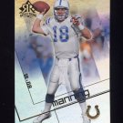 2004 Reflections Football #043 Payton Manning - Indianapolis Colts