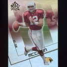 2004 Reflections Football #003 Josh McCown - Arizona Cardinals