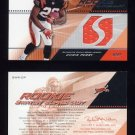 2004 SPx Football Rookie Swatch Supremacy #SWR-CP Chris Perry RC - Bengals Game-Used Jersey