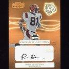 2001 Playoff Preferred Signatures Bronze #091 Ron Dugans - Cincinnati Bengals AUTO
