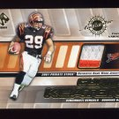 2001 Private Stock Game Worn Gear Patch #031 Curtis Keaton 2 Color Game-Used Jersey /350