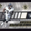 2001 Private Stock Game Worn Gear #111 Reggie Barlow - Oakland Raiders Game-Used Jersey