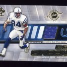 2001 Private Stock Game Worn Gear #064 E.G. Green - Indianapolis Colts Game-Used Jersey