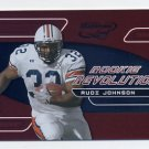 2001 Quantum Leaf Rookie Revolution #RR15 Rudi Johnson - Cincinnati Bengals 2906/4000
