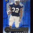2001 Quantum Leaf Football #215 Rudi Johnson RC - Cincinnati Bengals