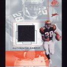 2001 SP Game Used Edition Authentic Fabric #CD Corey Dillon - Cincinnati Bengals Game-Used Jersey